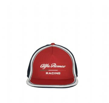 Alfa Romeo Racing Official Kids Team Flatbrim Cap - 2019